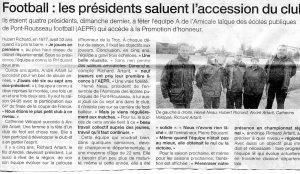 article montee AEPR